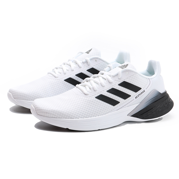 ADIDAS 慢跑鞋 RESPONSE SR 白 網布 透氣 運動 男 (布魯克林) FX3626