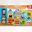 日本 Anpanman 麵包超人 行動快餐車間積木玩具組-藍精靈(2598)-超級BABY