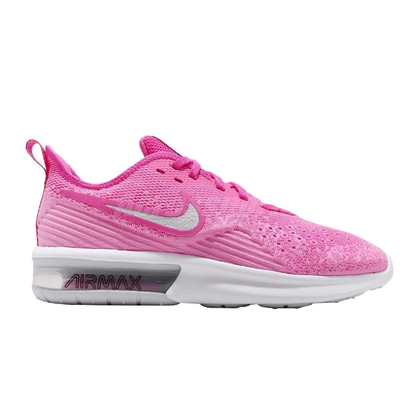 Nike 慢跑鞋 Wmns Air Max Sequent 4 粉紅 氣墊 女鞋 運動鞋【ACS】 AO4486-601