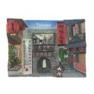 【收藏天地】台灣紀念品*溫度計冰箱貼-九份