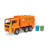 德國BRUDER 仿真大型車 1:16 橘垃圾車