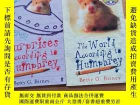 二手書博民逛書店The罕見World According to Humphrey Surprises According to H