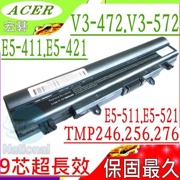 Acer 電池(9芯/保固最久)-宏碁 E5-471-59RT,E5-511,E5-511G,E5-521,E5-531G,E5-521G,E5-551,E5-551G,AL14A32