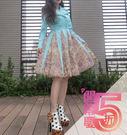 貴婦名媛款紐約時裝週風衣型經典蒂芬妮藍超...