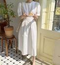 [預購+現貨]韓國-腰抓皺襯衫布洋(3色)-洋裝-74200710 -pipima-53