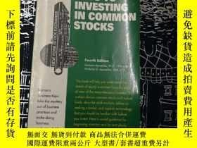 二手書博民逛書店KEYS罕見TO INVESTING IN COMMON STOCKSY22687