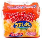 《松貝》湖池屋鹽味洋芋片5袋入150g【4901335122268】bc65