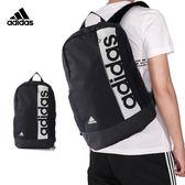 Adidas Lin Per Bp 黑 後背包 運動背包 大學包 肩背包 旅行 休閒 健身 雙肩 筆電包 S99967