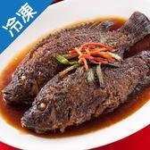 【1月22日起陸續出貨】台北南門市場逸湘齋蔥烤鯽魚300g+-5%/包(年菜)【愛買冷凍】
