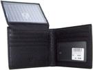 Nino 1881 黑色真皮皮夾 (貨號wt - 2703)