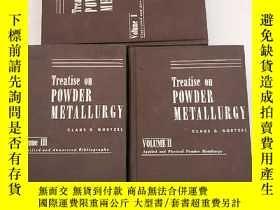 二手書博民逛書店treatise罕見on powder metallurgy v