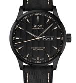 MIDO美度錶Multifort Chronometer天文台自動機械錶(M0384313705100)黑殼/黑面/42mm