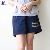 American Bluedeer - 刺繡字母短褲(魅力價)  春夏新款