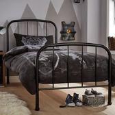 簡約現代歐式臥室鐵藝床雙人床1.8單人床鐵床鐵架床公主床 igo 全館免運