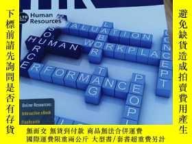 二手書博民逛書店HR罕見4 human resource management ReDeNisi , Griffin Y179