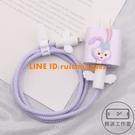 蘋果12/12Promax/11Pro數據線保護套快閃充電器貼紙繞線繩【輕派工作室】