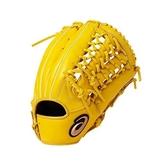 ASICS 亞瑟士 棒球手套 DIVE 軟式手套 (外野手用) 3121A136-200 黃 左手用 [陽光樂活=]