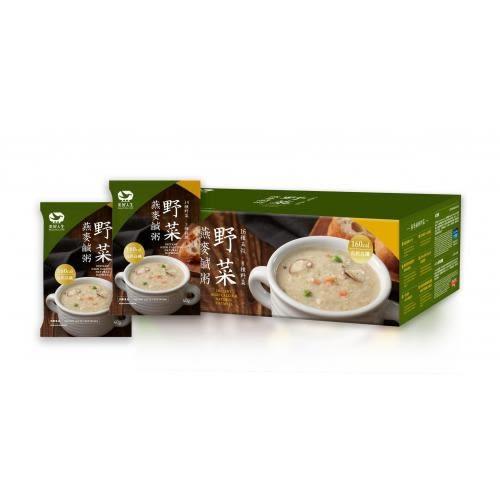 買一送一2盒特價組-【heliga美好人生】高鈣野菜燕麥鹹粥 改款新包裝