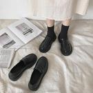 牛津鞋女英倫風小皮鞋子女學生韓版21春季新款黑色日繫jk制服鞋子女 快速出貨