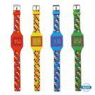 兒童錶兒童玩具手錶波點連身手錶 男女孩led 電子錶 中小學生時尚禮物錶
