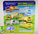 Westcott 動物造型兒童安全剪刀6入 W123353 [COSCO代購]