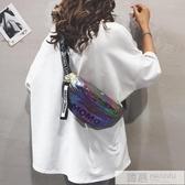 包包女2020新款韓版寬帶百搭單肩包夏季時尚洋氣休閒斜挎胸包腰包  雙12購物節