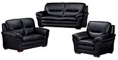 【南洋風休閒傢俱】沙發系列-傑克半牛皮多人沙發 臺灣製沙發 JX429-3-4-5