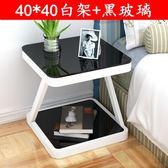 床頭柜 簡約現代臥室收納小桌子創意置物柜床頭小柜組裝簡易床邊柜liv 聖誕交換禮物