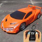 遙控車USB充電帶燈光漂移賽車跑車搖控汽車模型男孩電動兒童玩具igo    西城故事