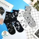 【正韓直送】韓國襪子 滿版史努比表情包中...