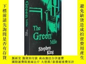 二手書博民逛書店英文原版史蒂芬金綠裏奇蹟The罕見Green Mile綠 色奇蹟
