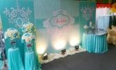 一定要幸福哦~~ 蒂芙妮風婚禮佈置,包套專案18000元會場佈置,浪漫型婚禮氣球佈置