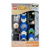 LEGO樂高 兒童手錶人偶系列 STAR WARS 星際大戰系列 天行者 路克