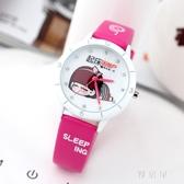 可愛兒童手錶女童女孩卡通小學生防水石英錶錶電子錶時尚韓版 ZJ1417 【雅居屋】