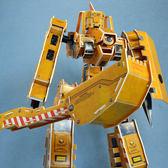 佳廷模型 親子DIY紙模型立體勞作立體拼圖專賣店 機器人裝甲獸 天秤座  關節可動Microrobot麥克羅伯