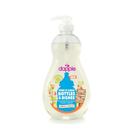 【愛吾兒】美國 dapple 奶瓶及餐具清潔液-芒果甜瓜500ml 美國原裝進口
