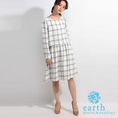 ❖ Hot item ❖ 經典格紋連身洋裝 - earth music&ecology