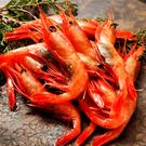 ㊣盅龐水產 ◇帶殼甜蝦4L◇重量1kg±5%/盒(約41-45隻)◇零$880元/盒 大隻甜蝦 會處理可生食
