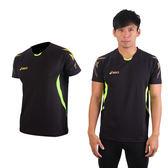 ASICS 男短袖T恤(排球服 羽球 運動T恤 防紫外線 免運