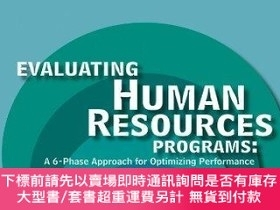 二手書博民逛書店Evaluating罕見Human Resources ProgramsY255174 Edwards, Ja