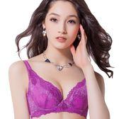 思薇爾-撩波系列D-G罩蕾絲包覆內衣(櫻草紫)