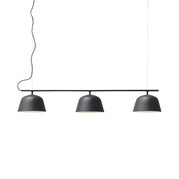 丹麥 Muuto Ambit Rail Suspension Lamp 境界 圓形吊燈 - 三盞一列款式