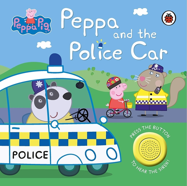 Peppa Pig:Peppa And The Police Car 佩佩豬當警察音效書
