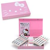 【震撼精品百貨】 Kitty 凱蒂貓~限量版麻將-新款粉色