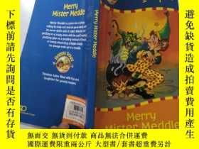 二手書博民逛書店merry罕見mister meddle 快樂的多管閑事先生Y200392