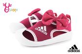adidas ALTAVENTURE MINNIE 小童 寶寶護趾涼鞋 透氣舒適 運動型 米妮 迪士尼聯名 R9315#粉紅◆OSOME奧森鞋業