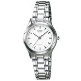 CASIO 素雅大方指針設計腕錶-羅馬白面(LTP-1275D-7A)
