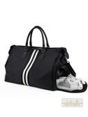 旅行包 手提旅行包男潮短途出差旅游大容量輕便行李袋女防水單肩包健身包-快速出貨