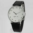 【萬年鐘錶】agnes b. 法式簡約時尚風 腕錶 銀x白  39mm  VJ20-K240LB(BJ5004X1)