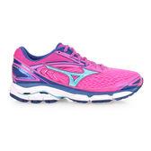 MIZUNO WAVE INSPIRE 13 女慢跑鞋 (免運 路跑 訓練 美津濃≡排汗專家≡